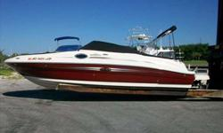 2007 Sea Ray 240 SUNDECK --->>> 6.2L 320HP --->>> 6.2L 320HP --->>> 6.2L 320 HP --->>> This indoor stored , awesome condition 240 Sundeck is another fine example of why it's one of Sea Rays' best selling and most popular sport boats 4 to 1 amoung it's