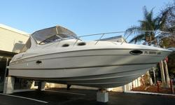 2000 Regal 2960 Commodore For Sale by Power Yachts International - Florida Exterior 1 owner, lift stored(covered), new risers and manifolds in 2010, low hours, loaded. This may just be the 1 you have been waiting for. Please check out the photoson our