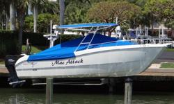 Customer Just Spent $5,000 In UPGRADES! Powered With Twin 200 HP Yamaha HPDI Outboard Engines With 700 Hours On Them, Full Cover, Ray Marine GPS/ Chartplotter, Auto Pilot, VHF Radio, ALL IN VERY GOOD CONDITION, No Trailer. Boat Is Kept On A Lift At A