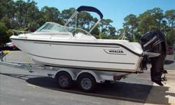2007 Boston Whaler 210 VENTURA Recent trade. Combination fish and ski. Upgraded 225 Verado with 150 hours. Very versitle family boat in great condition. Trailer is not included. Call our Fort Myers store for your personal viewing. For more information