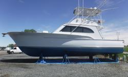 FISH A LEGEND. Buddy Davis arguably made one of the best sport fishing boats ever built. The 47 Convertible one of the company's most popular models and you won't find a better head sea ride.Stylish lines, an abrupt broken shear and the