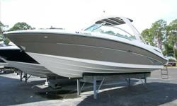 2006 Sea Ray 270 SELECT This 270 SLX is being offered by her original owner. She has been lift kept and ALL SERVICE IS UP TO DATE INCLUDING NEW EXHAUST RISERS AND MANIFOLDS on her Mercruiser 496 MAG MPI. The 270 SLX is a high end bowrider that pairs