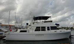 48' Ocean Alexander 48 Classico Aft Cabin Trawler Classicco is a 2006 48' Ocean Alexander aft cabin trawler in very nice condition. She offers a 2 stateroom, 2 head, galley up layout, low-hour Yanmar main engines, low-hour Onan generator, 2000 watt