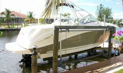 2006 Sea Ray 270 AMBERJACK Looking for a Very Clean and well Optioned out 270 Amberjack including the larger 6.2L MPI (320hp) Mercruiser; You're in luck. Options include but not limited too: Full Head & Galley, Fishing Package, AC/Heating, Champion