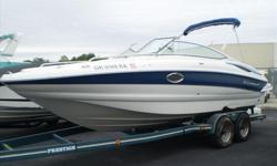 Powered by a Mercruiser 350 MAG MPI Bravo III this 2010 Crownline 240 EX is lake ready!! Only 125 hours! Features on this boat include: Air Actuated Drain System, Dual Battery Switch w/Dual Batteries, Transferable Warranty, Sony Premium Stereo Upgrade,