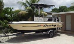 2003 dusky boat ready for the water 90 hp mercury ready for the everything is good to go ready for the water !!! water 786-683-6089