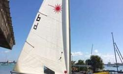 2008 Laser with Standard Rig for sale, at the Sarasota Sailing Squadron. Ready to sail, blade bag, top and bottom cover. Garage Stored. Very good conditions, sailed rarely. The boat can be rigged with any other rigCall Marco