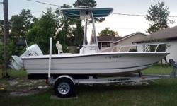 What I have up for Sale is a 96 Sea pro 180 cc 5 person 750 lbs. capacity with a Johnson 115.Trailer is a 06 Continental. The trailer has (2) new tires and (2) new leaf springs. The bunk boards are good shape but the carpet need to be re-place. The