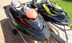 This is 2012 RXP-X 260 & 2010 RXT-X 260 Sea Doo 260 HP Supercharged, 2-Seater RXPX 260 (8hrs) & 3-Seater RXTX 260 (54hrs) - which are Seadoo's top of the line performance watercrafts and are absolutely the fastest they manufacture.If you want to buy it,