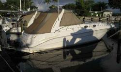 1999 Sea Ray 340 SUNDANCER Sea Ray's top-selling Sport Cruiser and most popular Sundancer models ever. She delivers an enviable blend of sophisticated design and luxury accommodations. Full Gally & Head, AC/Heating, Genset, Electronics, Tender with