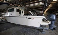 2003 Parker 2520XL Cabin model Twin Steering stations with GPS Wash Basin & Fridge Option Bimini top and 3 Deck Chairs for open Cockpit This listing has now been on the market more than a month. Please submit any offer today! We encourage all buyers to