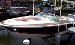 GREAT CONDITION!Twin 5.0 liter fuel-injected V8, 540HP (top speed: 50mph), Fully-equipped (refrigerator, stereo, etc). One engine replaced last year. The other engine has a new manifold. Well-maintained boat has been docked on ?air-dock? (barnacle free).