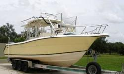 1999 Pursuit (Tower! Completely Refit in 2007!) *** FOR ALL QUESTIONS CONTACT: DAVE 941-737-3709 or 941-379-0909 or da... Listing originally posted at http://www.boatingbay.com/listings/1999-Pursuit-Tower-Completely-Refit-in-2007-94283.html