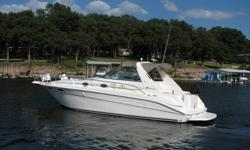 Great Boat! Has been well maintained! Powered by Twin MERC 454's this 97 Sea Ray 300DA is lake ready! Features include: Port engine#OK261225, Starboard enginge#OK264202, Generator: Westerbeke 854 hours,A/C, Battery-Dual,Battery Charger,Carpet- snap-in,