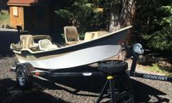 2004 16' Clackacraft drift boat in good, solid condition located in West Yellowstone. It has spent 90% of its time on the Henrys Fork-Idaho, the bottom and chines are in good condition with some chipping, nothing structural. Clackacraft in Idaho Falls