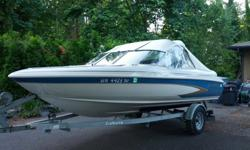 1996 Glastron SSV-175 Ski & Fish 40th Anniversary Edition $5195 or MAKE OFFER17.5 foot runabout with Mercruiser 3.0LX (135HP) and Alpha One (GenII) I/O powerplant.Easy Troller plate installed on drive. Down to troll eliminates need for kicker motor. Up