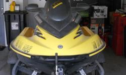 We are looking to sell a 2001 Sea-Doo jet ski. It has very low hours, was always garaged and is in excellent condition. We are asking $5,500 for it.If you are interested please text (402) 218-0372 or (402) 208-6314 for further information.
