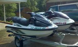 2000 Yamaha 800XL. 3 seater. 177 hours. Maroon/beige with full cover. 1999 Yamaha 760XL. 3 seater. 121 hours. Green/white with full cover. Both are in attractive condition and have been winterized yearly. Batteries are in great shape as well and will be