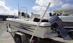 2000 Hydra Sports 17' Seahorse Powered with Johnson 70 hp Boat Motor and Trailer $5995. Come see it in person at Pelican Marine Center Inc. 13323 US Hwy 19, Hudson, FL 34667 or call 727-863-5409 with any questions.