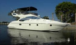 2009 Azimut 43 FLYBRIDGE For more information please call: (888) 860-3588 or call us toll-free at: (888) 510-8204 and reference stock number: 98868 Powered by MarineClick 86535