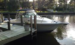 Twin 225 Yahama 4 Strokes, Furono Color, GPS/Plotter, VHF, CD/Sirius Stereo, full head shower, fridge, full fishing options. $159,000 New! Low hours! Reduced for quick sale $66,900. Call 757-855-7155