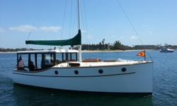 SCOUT FAIRCHILD 30 RAISED DECK MOTOR CRUISEROne of fewer than sixty Scout 30s built in the late 1970's and early 1980's and one of only 3 built in a motor sailer configuration. She was designed by noted powerboat designer Ben Ostend. The Scout 30 was
