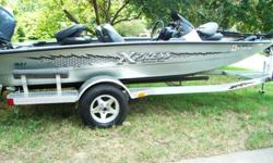 2008 Xpress 17ft H51 Sportsman Series with a Yamaha four stroke 60 outboard motor. This boat has about 10 hours on it and is still in excellent condition and runs like a brand new machine. It has an Aluminum Trailer, Battery chargerDepth Finder, Trolling