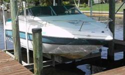 2000 Glastron 209 CUDDY Glastron 209GS Cuddy Cabin. Owner must sell and considering all reasonable offers. Includes Bimini Top, Cockpit Cover, Lowrance Depth Guage, V-Berth Cushions and Porta-Potty for the young ones. Please call listing agent for