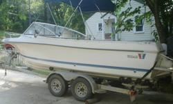 I?ve got a salt water fishing boat that needs to go. It's been a good one and me and my boys had some great times fishing, cruising the lake and camping (the cuddy cabin sleeps 2). I don't use it much anymore and I want to find a new owner. Comes with a