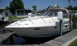 2002 Doral International 310 SE Extremely clean and well maintained by caring owner. Lift kept. Dry stored inside for the summer. This is a must see vessel. Hinged arch allows for exceptional bridge clearance. Call for your private showing. For more