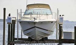 This Formula 34 PC is an express cruiser with exceptional range, accommodations, and style. With plenty of room for guests, and great storage you can cruise in style to your favorite destination. She sports a great layout above and below decks to afford