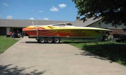 2001 Fountain 42 LIGHTNING Performance minded, you Must See. Very Clean and Powerful is this 42 Lightning. Recently brought down from fresh waters of TX & OK. Owners is considering all offers. Please call listing agent for more details. Shown by