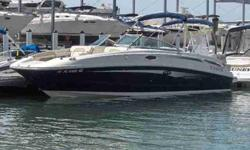 2010 Sea Ray 280 SUNDECK This is what day boating is all about. Spacious and well appointed for that run to your favorite lunch spot or a private anchor in a cove! Double bimini gives you a break from all that sunshine. For more information please call: