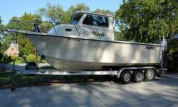 2008 Parker 2520 XLD Sport Cabin Cockpit Steering Station Wheel House Steering All Instrumentation Yamaha still under warranty This listing has now been on the market more than a month. Please submit any offer today! We encourage all buyers to schedule a