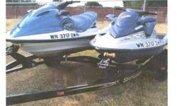 JET SKIS, 2004 YAMAHA, 2002 Seadoo, 2011 Trailer. $7500. 509-551-5145. .See item listed at http://www.recycler.comListing originally posted at