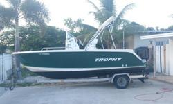 2004 19ft Trophy Model is 1903 cc 2004 150 hp Mercury Salt Water Series 110 psi in Each Cylinder 2004 web on Trailer Ready to GO!!! No Sea Trial!! Motor Runs Good Boat is in Good shape Don't Waste My Time or Yours No Deposit ONLY CASH MONEY Quick Sell