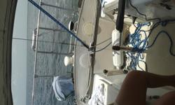 C&C 27 - 1973 upgraded and well furnished. Harken furler. Very nice main with guide lines, 135 jib in excellent newer condition. Self tailing wenches. Fresh water supply with faucet in head and galley adjacent companionway hatch to starboard. Port side of