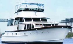 Own this beautifully restored and modernized 76-foot 1965 Burger flybridge motor yacht with fishing cockpit. She was rebuilt specifically for resell and is mint and turn-key. She is no project or refit like many other Burgers; she is a completed
