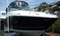 2009 Sea Ray Sundancer, Length: 27', Lift Kept in private marina. Fantastic condition. 90 hours on engine. Loaded - generator, flat screen television in cabin, Sony cd system, AIR CONDITIONED, Raymarine gps, windlass. Full camper style canvas. Original