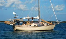 PRICE REDUCTION!!!! Ready to leave the dock for cruising! Strong, seaworthy boat which boasts a solid pedigree. Use this upgraded boat as a benchmark by which to judge the others!Equipment: All new canvas 2008 including full screen and Strataglass