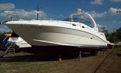 2004 Sea Ray 340 SUNDANCER Well cared for 340 and recent trade. The boat was used mostly up north in fresh water. Newer Raymarine E80 Chartplotter with Radar. This boat should be on the top of your viewing list. Call our Fort Myers office for your