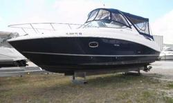 2011 Sea Ray 280 SUNDANCER Super Clean, Low hours (65), loaded with options, and includes Extended Product Protection through 2/2017. Please call listing agent for more details. This is a brokered vessel. For more information please call: (888) 816-6651
