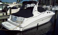 2005 Sea Ray 320 SUNDANCER This very clean and well maintained 320 Sundancer was just taken in trade. Many extra's including, strata glass, cockpit cover, fish finder, radar, upgraded 6.2 horizons which are fresh water cooled. Call our Fort Myers store