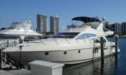 2006 Azimut 62 FLYBRIDGE For more information please call: 888-542-3824 or call us toll-free at: (888) 510-8204 and reference stock number: 108390 BoatingBay.com 136276