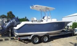 New 2014 Tidewater 230LXF Powered with Yamaha F250XA Horizon Blue Includes Compass, Dual Battery System, Fresh Water Washdown, Underwater Lights, Hard T-Top Stock #HF353 COME SEE IT IN PERSON AT PELICAN MARINE CENTER INC. 13323 US HWY 19, HUDSON, FL 34667