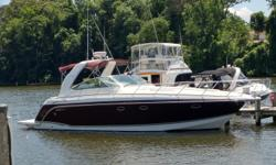 "Single owner, low hours, Formula 40 Performance Cruiser ... this 2007 shows like a much newer boat ... absolutely gorgeous! AIN'T SETTLIN' is a very roomy cruiser with a massive salon and galley area (with 6'-9"" of headroom), large staterooms forward and"