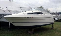 General Description The 2355 Ciera makes big boat virtues surprisingly affordable. The 2 separate double-berths, a functional galley with a sink and icebox, and an enclosed head make the 2355 a true family cruiser. Actual Condition This is a donation boat