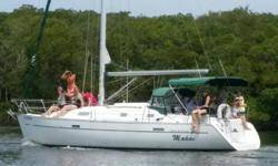 $1,600 PRICE REDUCTION! Owner wants boat SOLD! MAKAI is a beautiful Beneteau true to the philosophy of building a vessel that brings comfort, ease of handling and performance to it's owners. A large cockpit awaits guests with comfortable