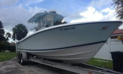 Boat Show Special Mint Condition, Original Owner, Trailer Stored 2006 Yamaha 4Stroke, , Twin, 250 HP, 760 Hours ELECTRONICS: Simrad auto pilot AP20 Furunonav net VX2/radar Icom vhf with external speaker Rockford fosgate sound Real Trailer Available (Not