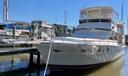 NEW WINTER PRICING!!- - MOTOVATED OWNER SAYS BRING OFFERS!!! CJ is an exceptional example of the Viking 44 that combines the build and design features of Viking's famed high performance, custom sports fishermen with the comfort of a well appointed motor